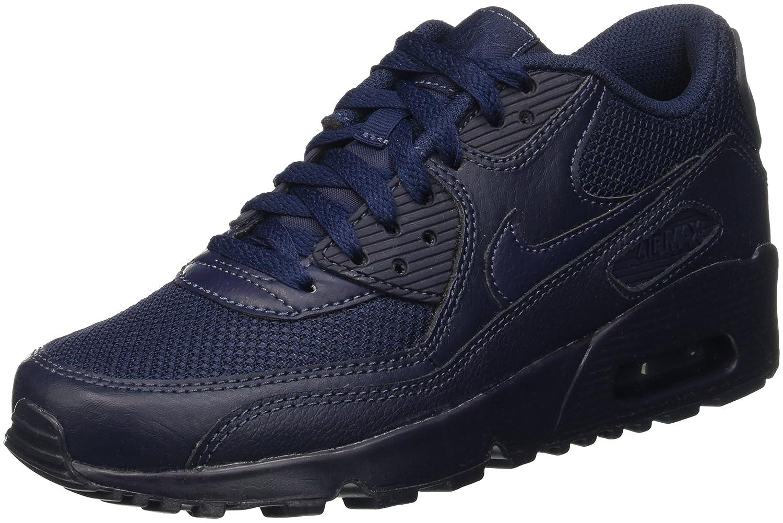 Compre Popular Nike Niños Air Max 90 Mesh Sneaker Obsidian 244JA