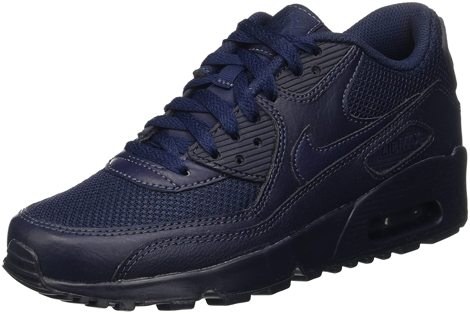 newest c4aed 5afea Nike Boys Air Max 90 Mesh (Gs) Sneakers, Blue Obsidian, 5 UK Amazon.co.uk  Shoes  Bags