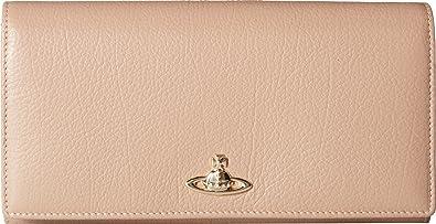 3d8092356d5 ... vivienne westwood womens long wallet w chain balm beige size ...