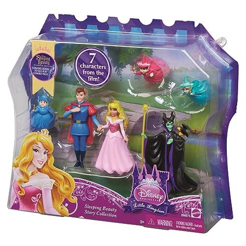 Disney Princesses - Bmb73 - Poupée Mannequin - Coffret Aurore Et Personnages