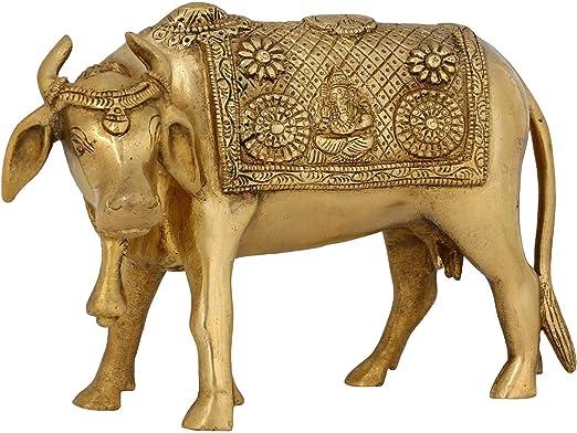 Adornos De Animales Para El Icono Religioso Hindú Vaca Casa ...