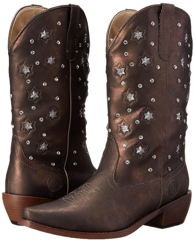 Roper Women's Starlights Riding Boot B00PX3RHY6 10 B(M) US Bronze