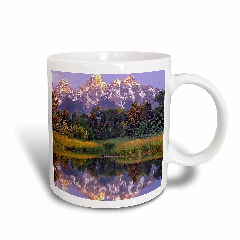 Wyoming-Us51 Tfi0078-Tim Fitz Harris Ceramic Mug 15 oz White Schwa her Landing Grand Teton Np 3dRose 97629/_2