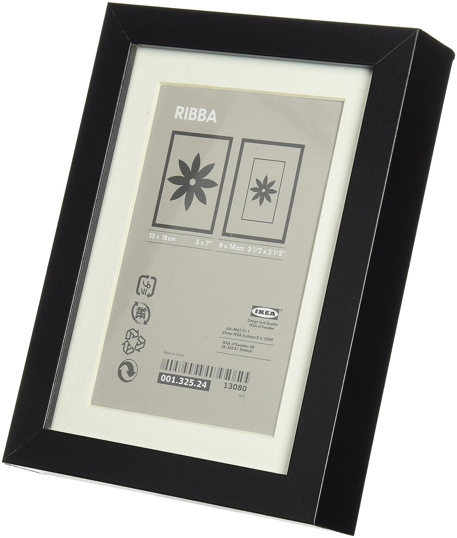 Amazon.com - Ikea Ribba 5x7 Picture Frame - Black - Single Frames