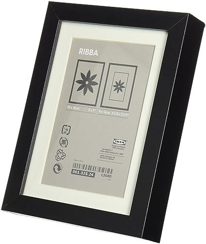 Ikea Ribba 5x7 Picture Frame - Black