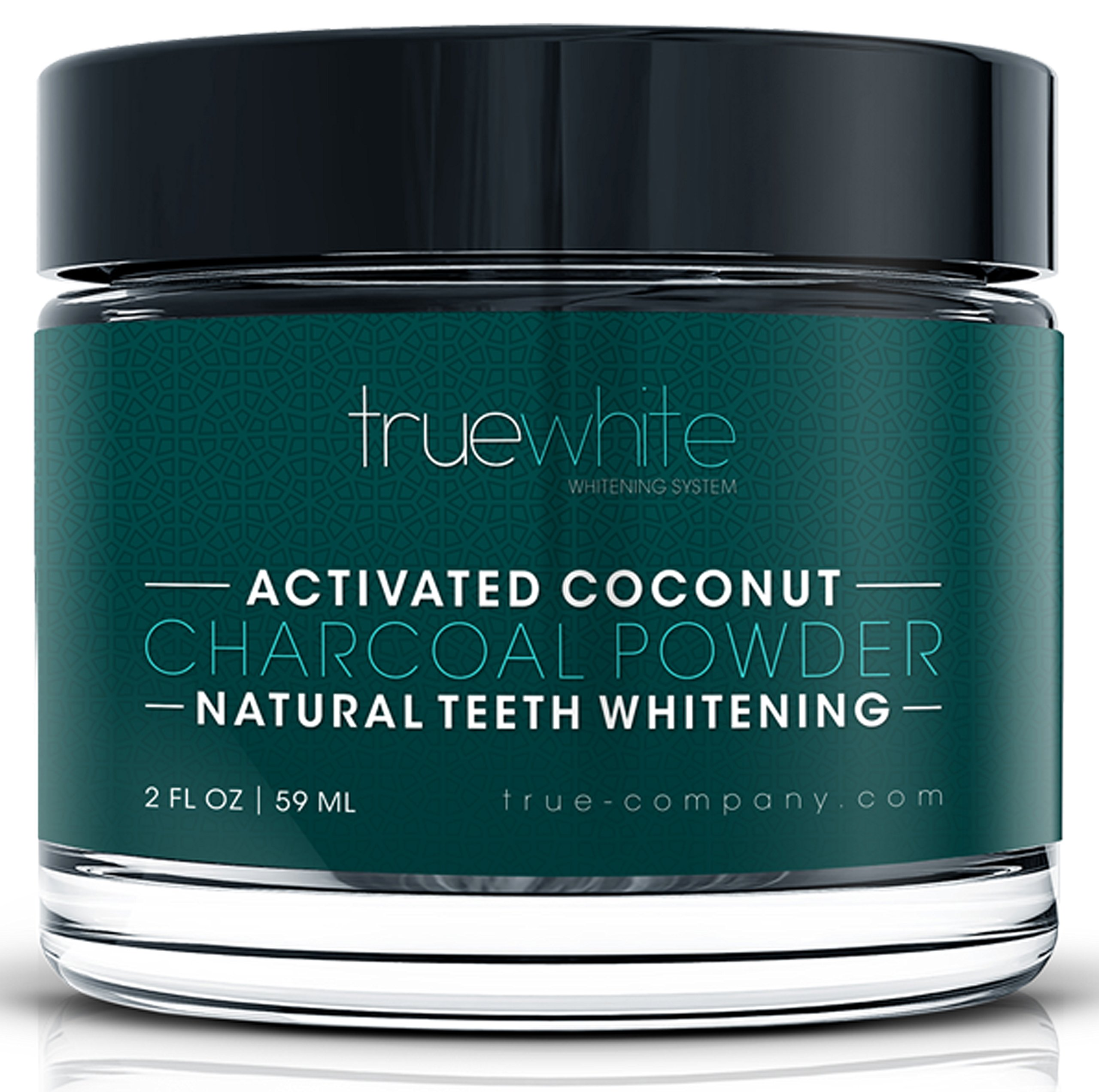 true white activated charcoal teeth whitening kit advanced plus 2 person. Black Bedroom Furniture Sets. Home Design Ideas
