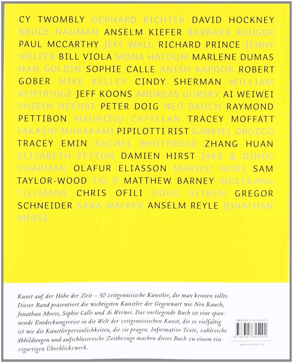 50 zeitgenössische Künstler, die man kennen sollte: Amazon.de: Brad ...