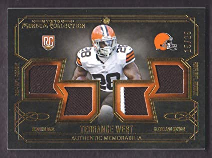 2014 Topps Museum Collection Football Rookie Quad Jersey Gold #RQR ...