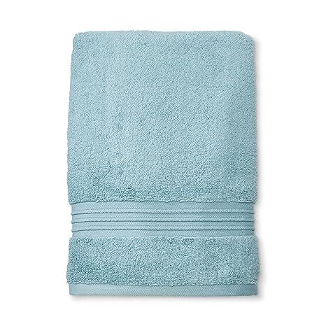 Fieldcrest Spa Acoustic Aqua Towel Home Kitchen
