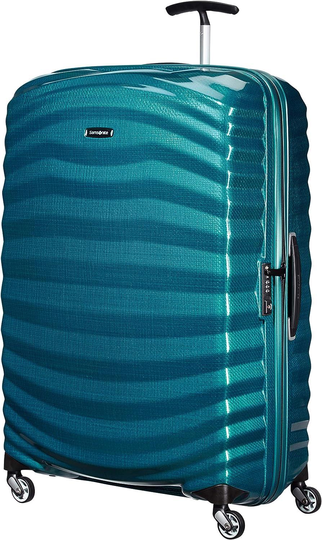 Samsonite Lite-Shock - Spinner XL Maleta, 81 cm, 124 L, Azul (Petrol Blue)