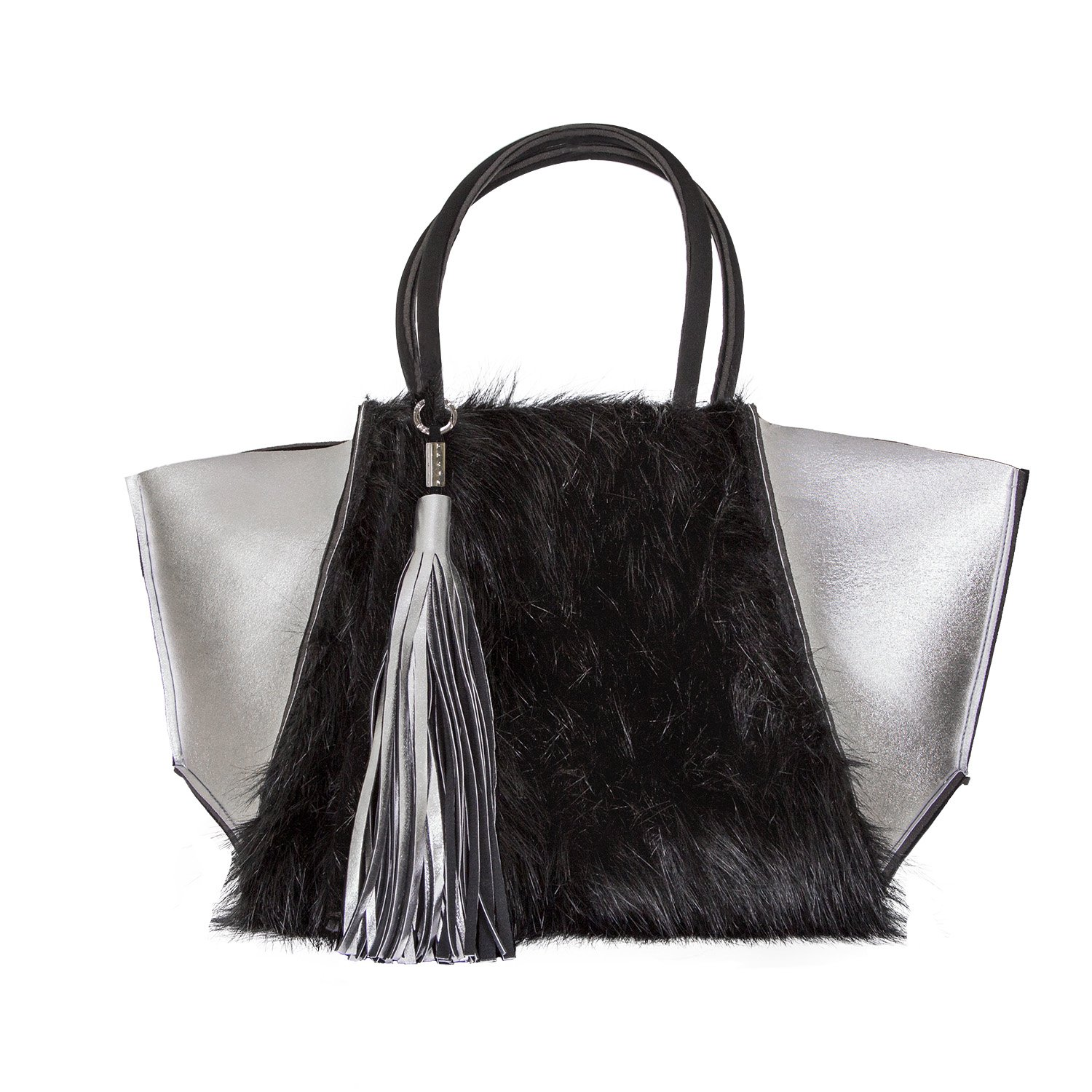 Iceberg Shoulder Bag Silver