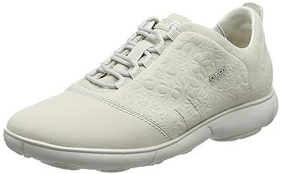 b3f9a64abb922 Geox Damen D Nebula A Low-Top Sneakers mit herausnehmender ...