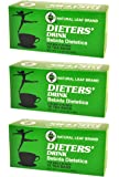3 BOXES NATURAL LEAF BRAND DIETER DRINK TEA 1.5 OZ. FOR MEN AND WOMEN
