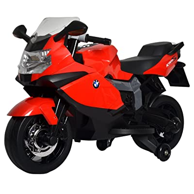 Best Ride On Cars BMW Ride On Motorcycle 12V, Red: Toys & Games