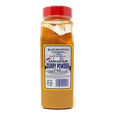 Blue Mountain Jamaican Curry Powder Hot 22oz By Blue Mountain