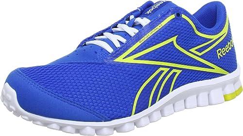 hielo Escritura Tío o señor  Reebok Realflex Optimal 4.0 J96904 Unisex Children's Sneaker Blue Size: 4:  Amazon.co.uk: Shoes & Bags