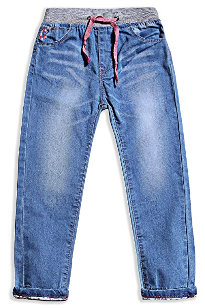 Amazon.com: little-guest Little Girls jeans niños ropa ...