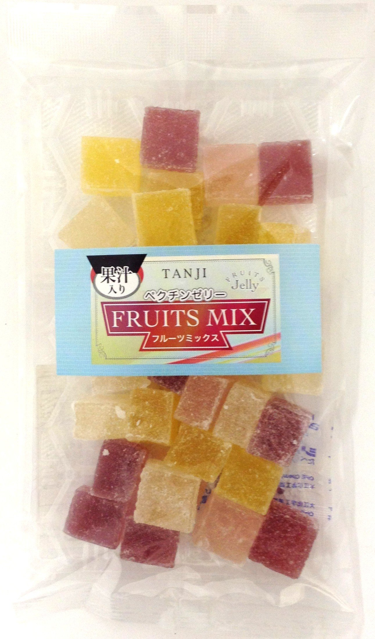 Tanji confectionery pectin jelly fruit mix 180gX10 bags