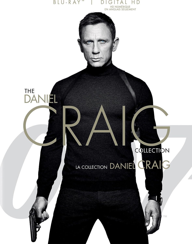 James Bond-Daniel Craig 4 Pack Collection (Bilingual) [Blu-ray + Digital Copy] 20th Century Fox