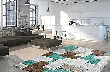 Amazon moderner teppich my acapulco kurzflor von obsession