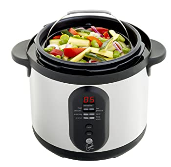 CY4000 Nonstick Dishwasher Safe Electric Pressure Cooker, 6-Quart Review
