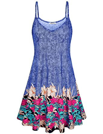 bb5a01a2ef SeSe Code Summer Dress Women Floral Sundresses Casual Beach Flowery  Bohemian Style Clothing Colors Fashion Swing