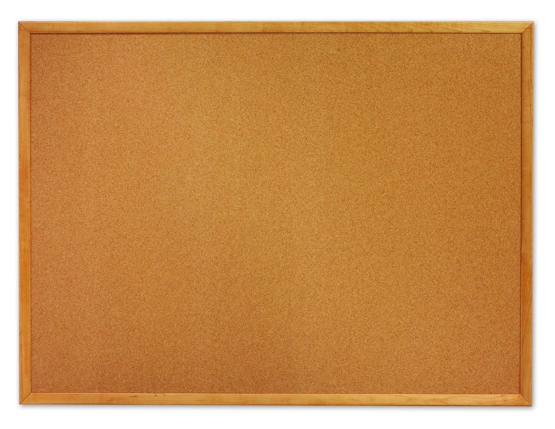 Quartet Corkboard, Framed Bulletin Board, 2