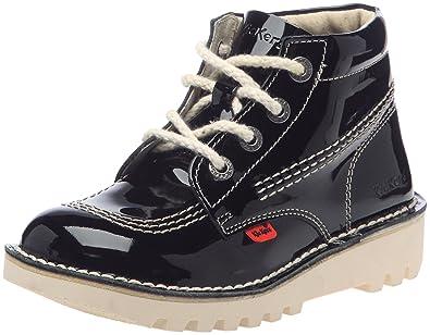Fille Eu Boots Noir Kickers 29 Verni Rallye qpaxZwT