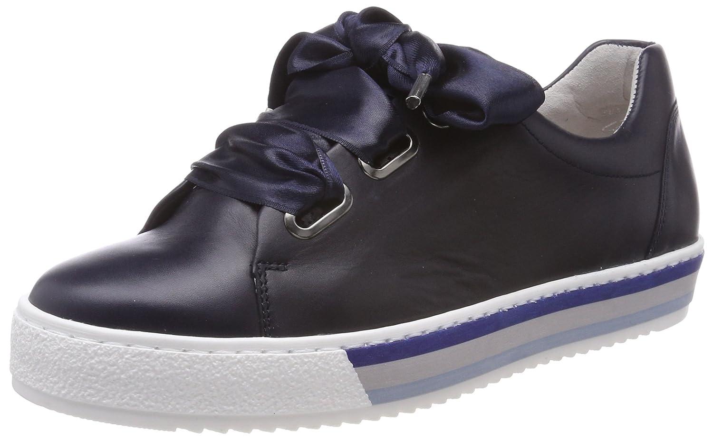 Gabor Shoes Comfort Basic, Zapatos de Cordones Derby para Mujer 40.5 EU|Azul (Midnight S.w/B)