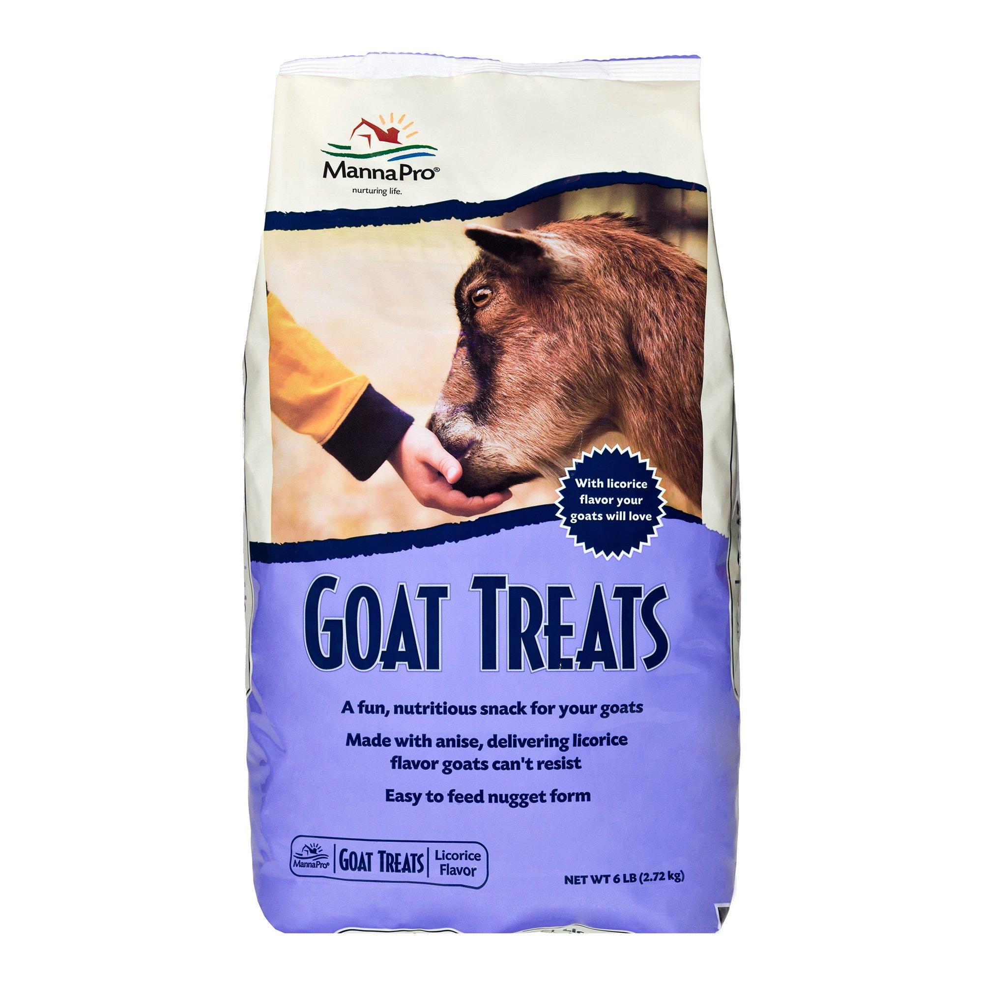 Manna Pro Licorice Goat Treats, 6 lb