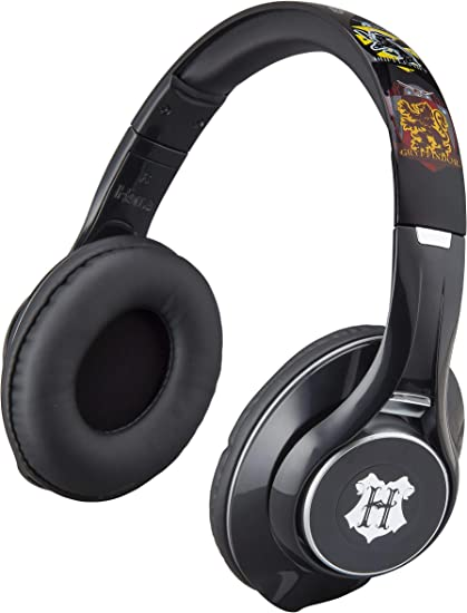 Amazon Com Harry Potter Wireless Bluetooth Headphones With Microphone Voice Activation And Bonus Aux Cable