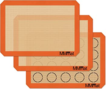 MMmat German Set of 3 Silicone Baking Mat