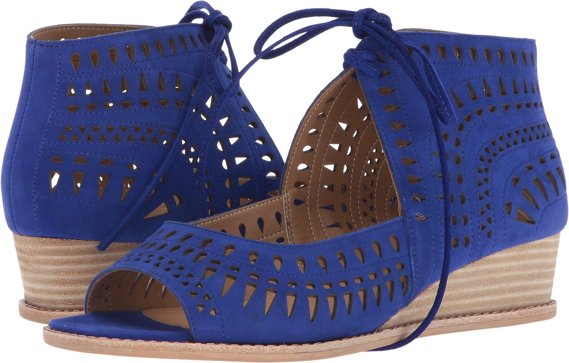 VANELi Women's Janice Jordan Blue Suede 5 M US