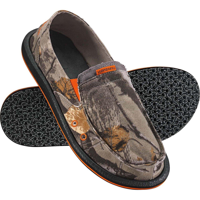Legendary Whitetails Men's Field Camo Slip On Shoe