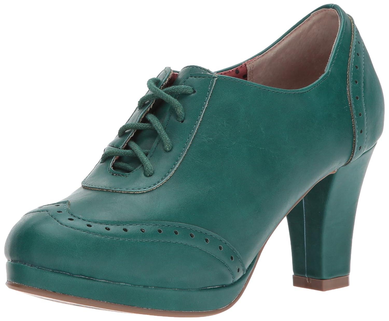Bettie Page Women's Bp303-Saison Ankle Bootie B071CVK73Q 10 B(M) US|Green