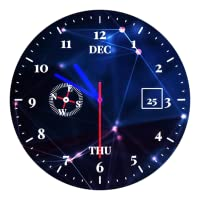 Designer Tech Clock Live wallpaper