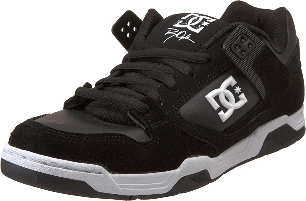 DC - Mens Flawless M Low Shoe, UK: 6.5 UK, Black/White: Amazon.es ...