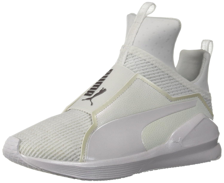 PUMA Women's Fierce En Pointe Wn Sneaker B071GL3W6K 7.5 B(M) US|Puma White-puma White