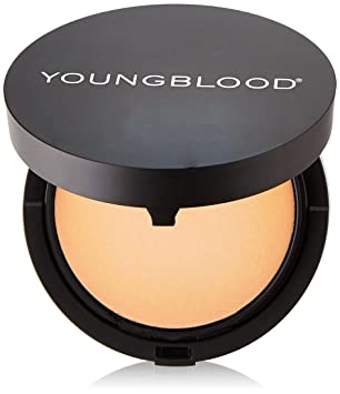 Youngblood Cream Refillable Powder Foundation, Compact Honey 7 g