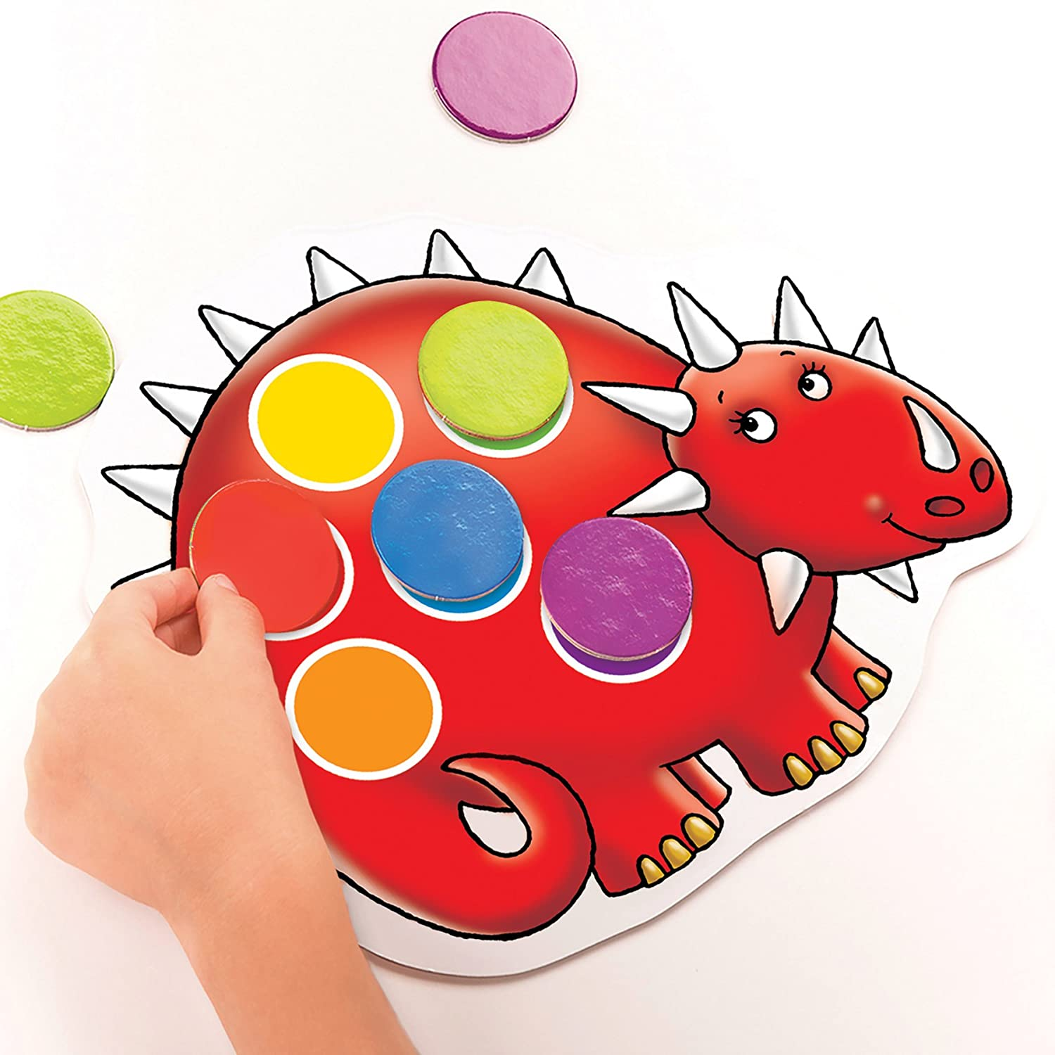 Orchard Toys Dotty Dinosaurs Childrens Game Multi One Size