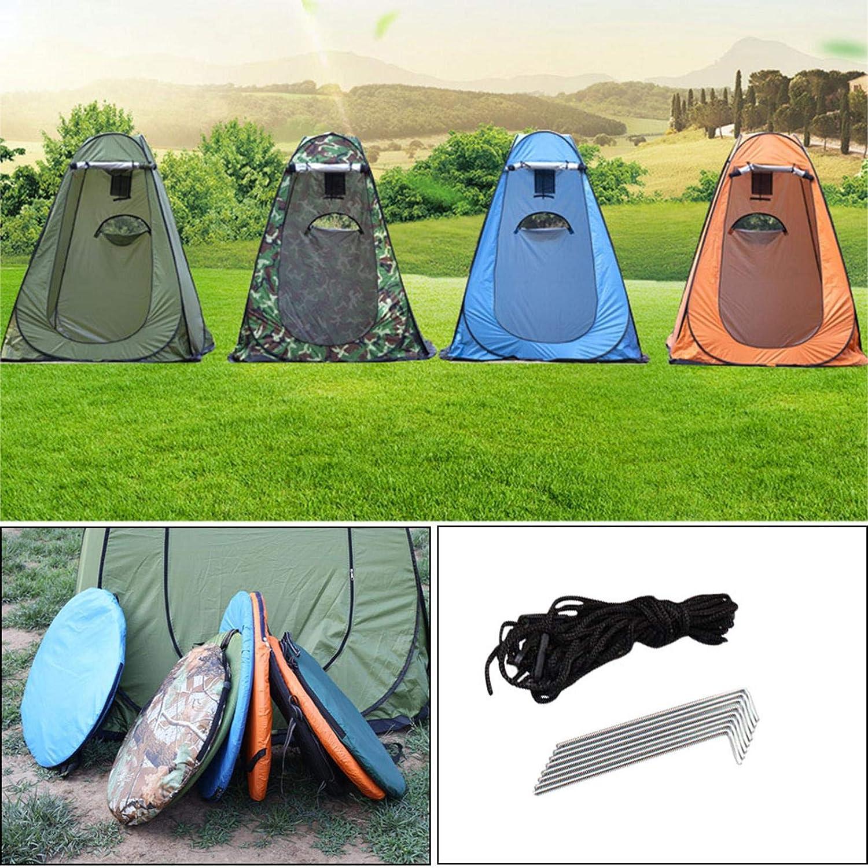 Tragbares Duschzelt Wasserdichtes Aufstellzelt Pop up Zelt Strand Camping Tent A