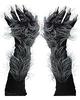 Zagone Studios Men's Killer Wolf Gloves (Grey)