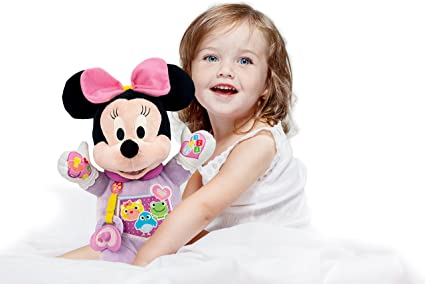 Amazon.com: Clementoni Baby Disney My First Snowman Minnie,Pink ...