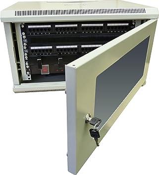19u201d 450mm White 6U Data Rack Power Distribution Unit PDU Server Cabinet Switch  sc 1 st  Amazon UK & 19