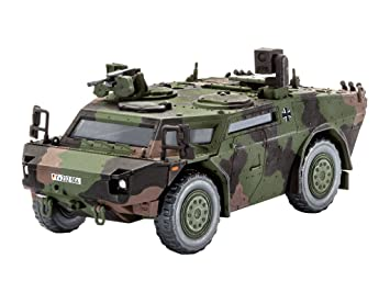 Revell - Maqueta Recon vehículo Fennek, Escala 1:72 (03136 ...