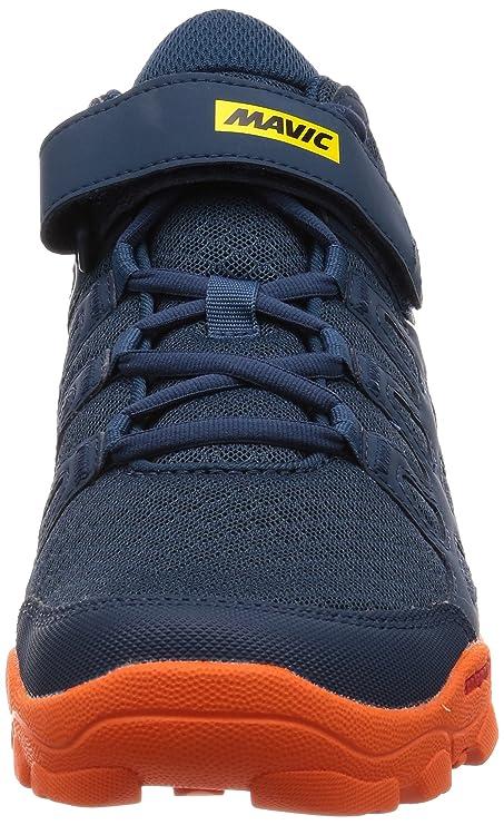 MAVIC Crossride - Zapatillas Hombre - Naranja/Azul Talla del Calzado UK 8 | EU 42 2018: Amazon.es: Deportes y aire libre