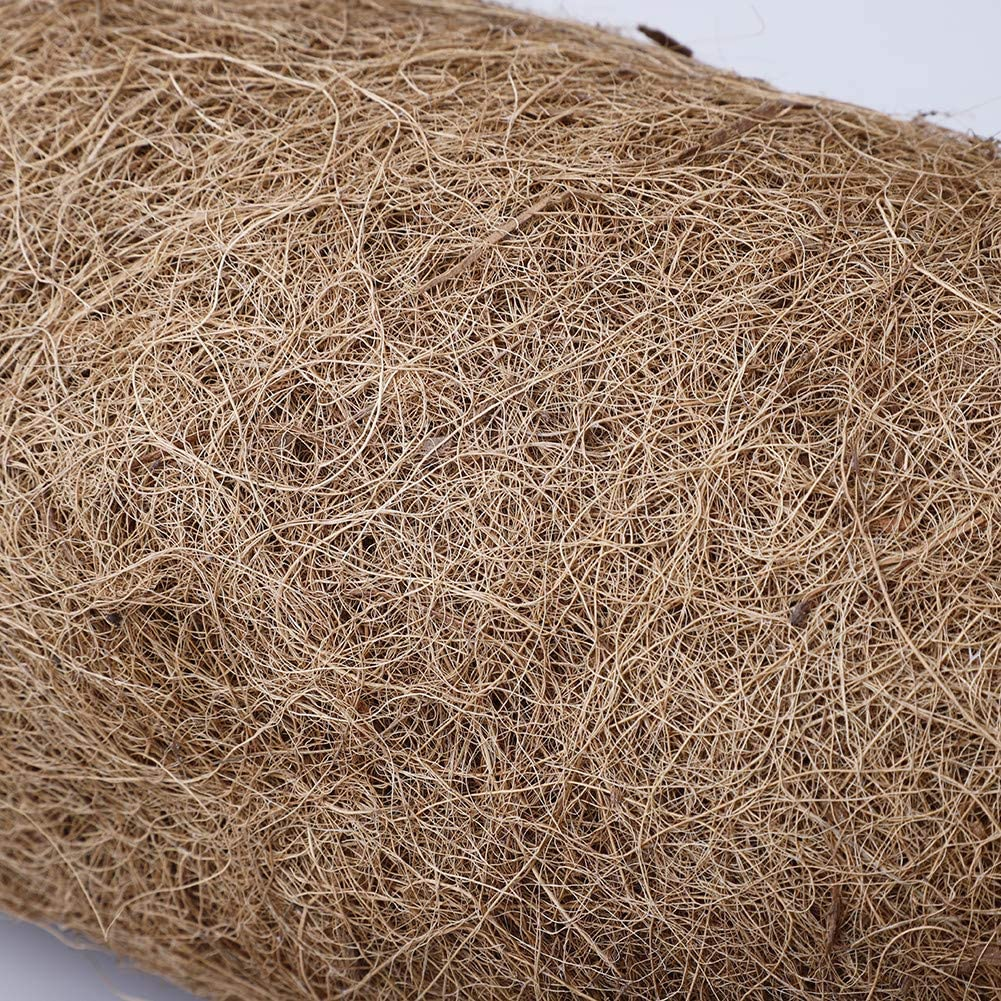 Bulk Coco Liner 23.6 W x 33.4 L Coco Fiber Roll Fiber Replacement Liners for Wall Hanging Baskets Okngr 2 Pcs Coco Liner Roll