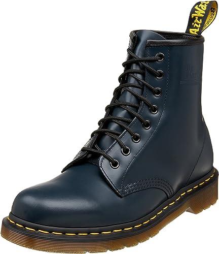 doc martens femme chaussure talons bottines bleues