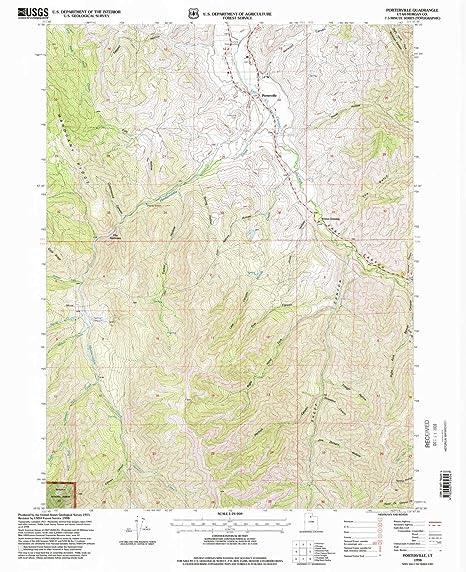 Amazon.com : YellowMaps Porterville UT topo map, 1:24000 ...