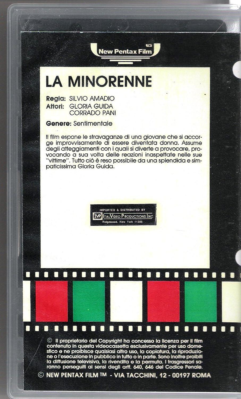 Amazon.com: La Minorenne - Vhs: Everything Else